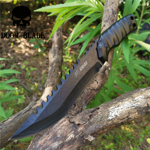 Tactical Fixed Blade Knife 8CR13MOV Steel Military Diving Knives Good for Hunting Camping Survival Outdoor and Everyday Carry