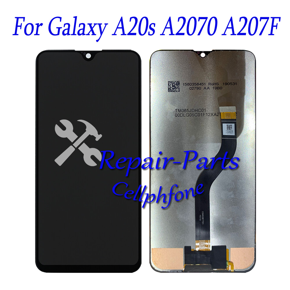 6.4 inch New Full LCD DIsplay + Touch Screen Digitizer Assembly For Samsung Galaxy A20s A2070 A207F SM-A2070 A207F
