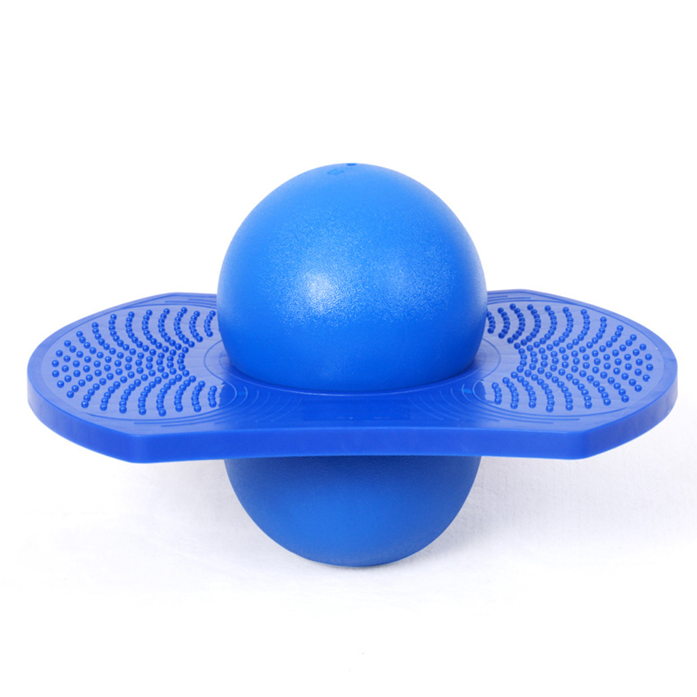 Rock Exercise Hopper Balance Yoga Energetic Jump Board Jumping Toy Fitness Balls