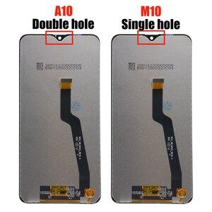 Image 2 - Pantalla LCD Original de 6,2 pulgadas para Samsung Galaxy A10, A105, A105F, SM A105F, 10 unidades/lote