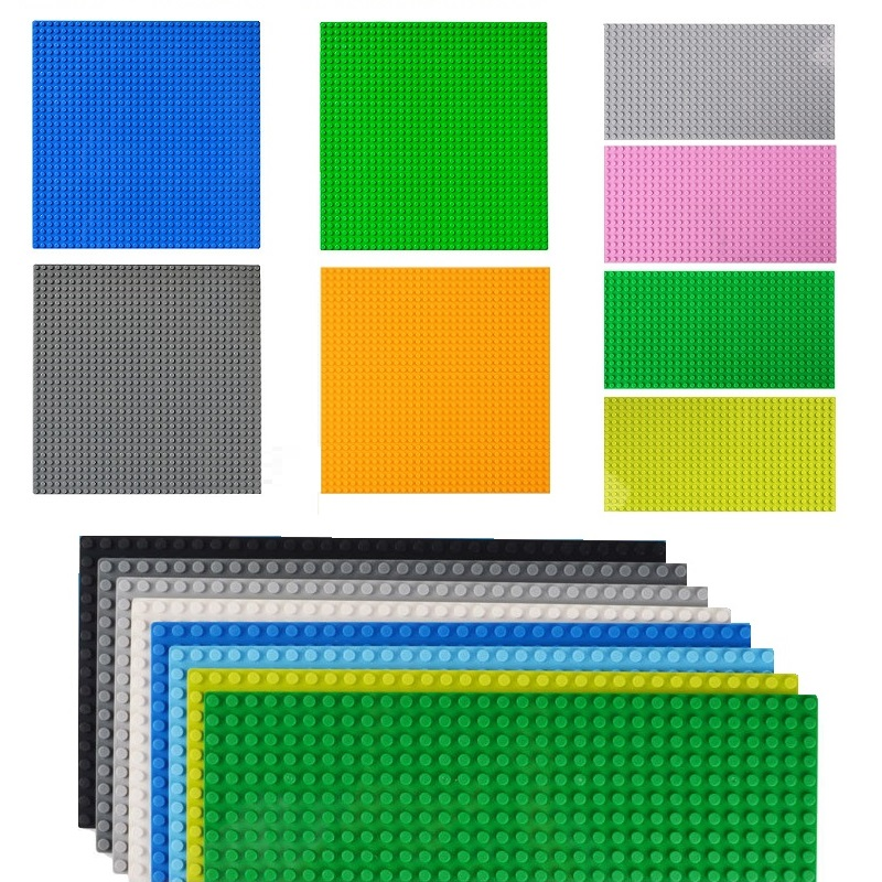 Classic Base Plates 32X32 32*16 Dots Compatible LEGOs Base Plate Plastic Bricks Baseplates Small Block Construction Toy For Kids
