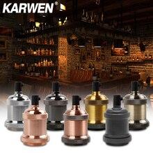 Light-Socket Lamp-Holder Base Screw-Bulb Fixture-Pendant-Lights Retro-Fittings Industrial