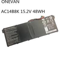ONEVAN 48Wh 15.2V AC14B8K Battery For Acer Aspire E3 111 E3 721 E5 771 ES1 311 ES1 711 R7 371T V3 111 C810 C910 CB3 571|Laptop Batteries| |  -