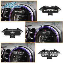Para mini cooper f60 acessórios do carro suporte do telefone móvel para mini jcw f54 f55 f56 f57 countryman f60 navegação gps suporte de montagem