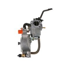 1 шт. двойной топливный Карбюратор Carb для водяного насоса генератор двигателя 170F GX200 Прямая поставка поддержка
