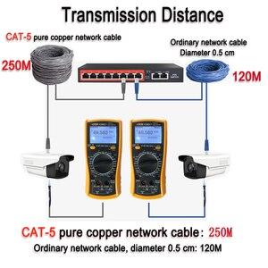 Image 5 - 48V POE schalter Ethernet mit 6 RJ45 Netzwerk Ports IEEE 802,3 af/zu protokoll Geeignet für CCTV kamera system/Wireless AP