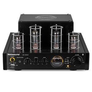 Image 3 - Nobsound HiFi Bluetooth vana tüp amplifikatör Amp hibrid güç amplifikatörü kulaklık amplifikatörü ev sineması Stereo USB müzik çalar