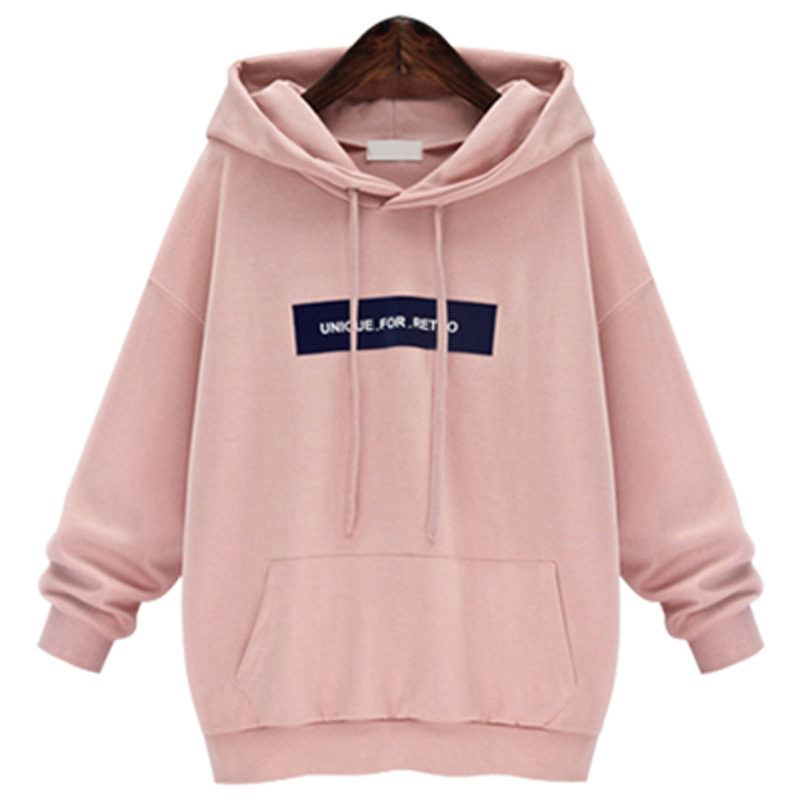 Sweatshirts 2019 Letter Print Women Long Sleeve Hoody Jumper Pullover Top Blouse Female Sweatshirt Pullovers Poleron Sudadera