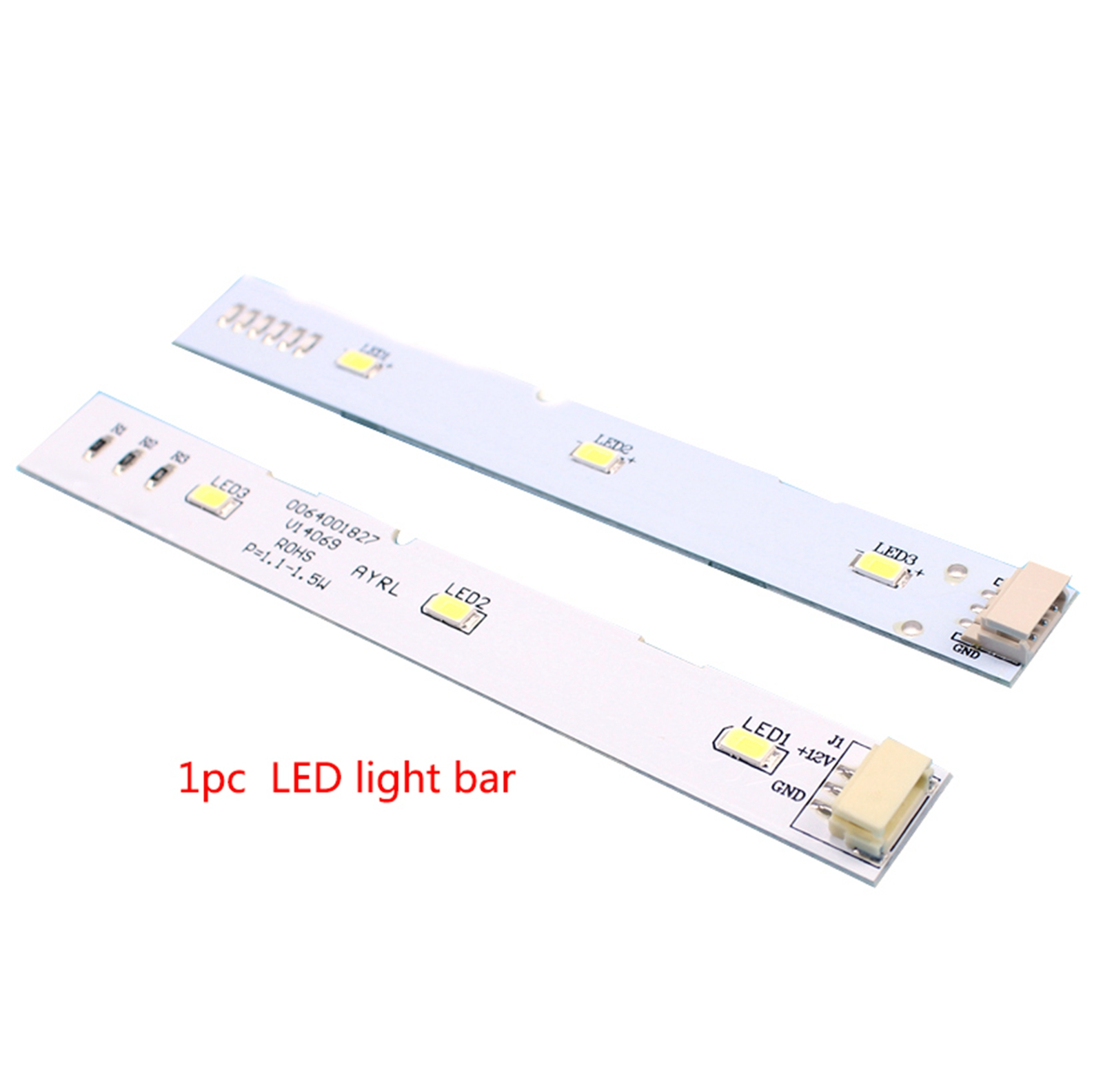 LED Backlight Strip Lamp For Haier BCD-575WDBI 0064001827 Front-door Refrigerator LED Lamp Bar Accessories