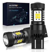 Bombilla LED Canbus T20 W21/5W 7443, sin Error, 7440 W21W, para Lada Vesta Kalina, luces de circulación diurna 6000K, Blanco, Naranja, rojo, 2 uds.