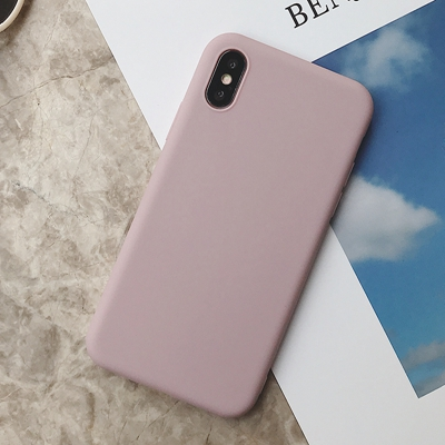 Силиконовый чехол для iPhone 11 Pro Max, чехол из мягкого ТПУ, матовый цветной чехол для телефона s, чехол для iPhone 6 7 8 Plus 6S XS Max XR X Etui - Цвет: SD-3