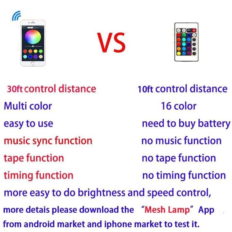 app controle led projectores 16 milhões cores
