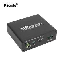 Kebidu HD 1080P HDMI Sang DVI Âm Thanh Bộ Chia Tín Hiệu HDMI Sang DVI + SPDIF Âm Thanh Stereo Spliter Chuyển Đổi Với HDCP loại Bỏ Video Chia