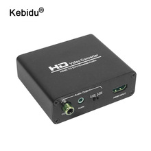 kebidu HDMI to DVI + SPDIF Audio Stereo Spliter Converter HDMI to DVI Audio Splitter with HDCP Removing HD 1080P Video