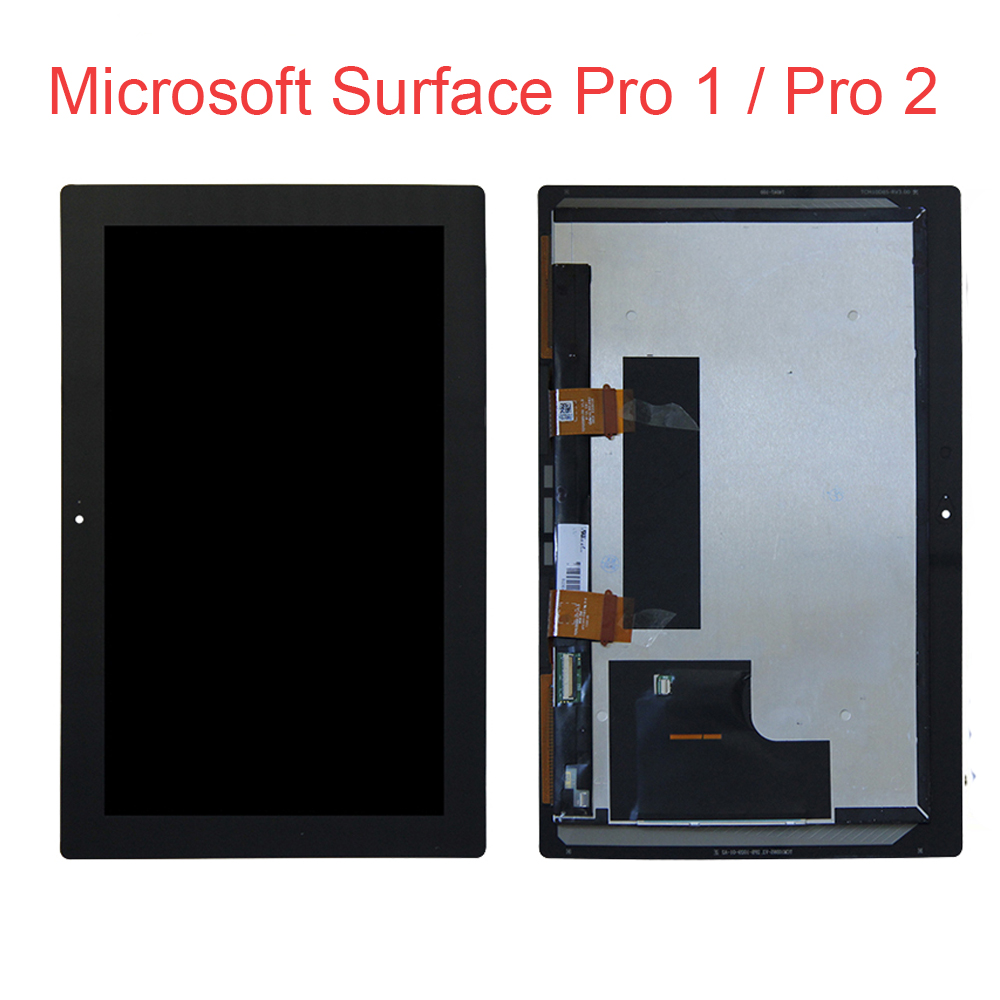 Original For Microsoft Surface Pro 1 Lcd Pro 2 Pro 1514 Pro2 1601LCD Display Screen Digitizer Touch Panel Glass Assembly + Tools