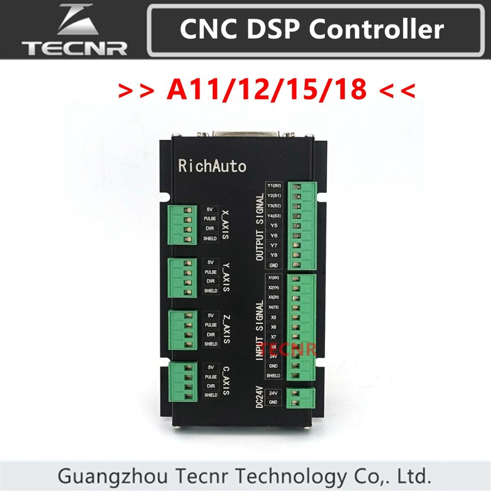 Oryginalne RichAuto DSP DSP A11 A12 A15 A18 podłączyć pokładzie tylko 3 osi systemu sterowania ruchem z język angielski