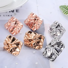 Fashion Personality Metal Geometry Earrings Exaggeration Popular Irregularity Ear Bar Earrings for Women Jewelry Gifts earrings ladies popular exaggeration new brand natural pearl handmade earrings accessories jewelry ear accessories direct access