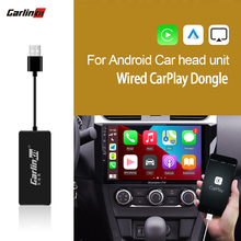 CarlinKit – adaptateur Dongle filaire Apple Carplay, pour système Android Auto, lecteur de Navigation, intelligent, mirrorlink, Radio IOS14