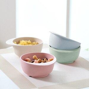 Natural Bamboo Fiber Bowls for