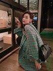 Women Fashion Green ...