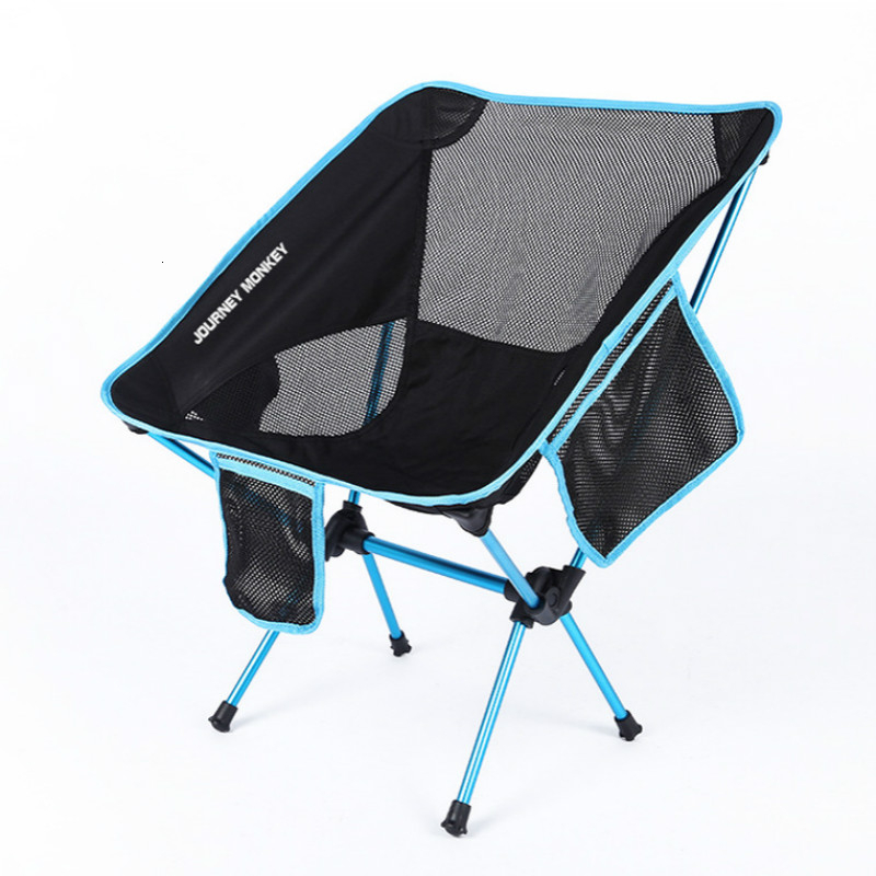 Lightweight Portable Outdoor Folding Picnic Camping Chair Fold Fishing Beach Foldable Chairs Seat Casual Garden Tools Sillas