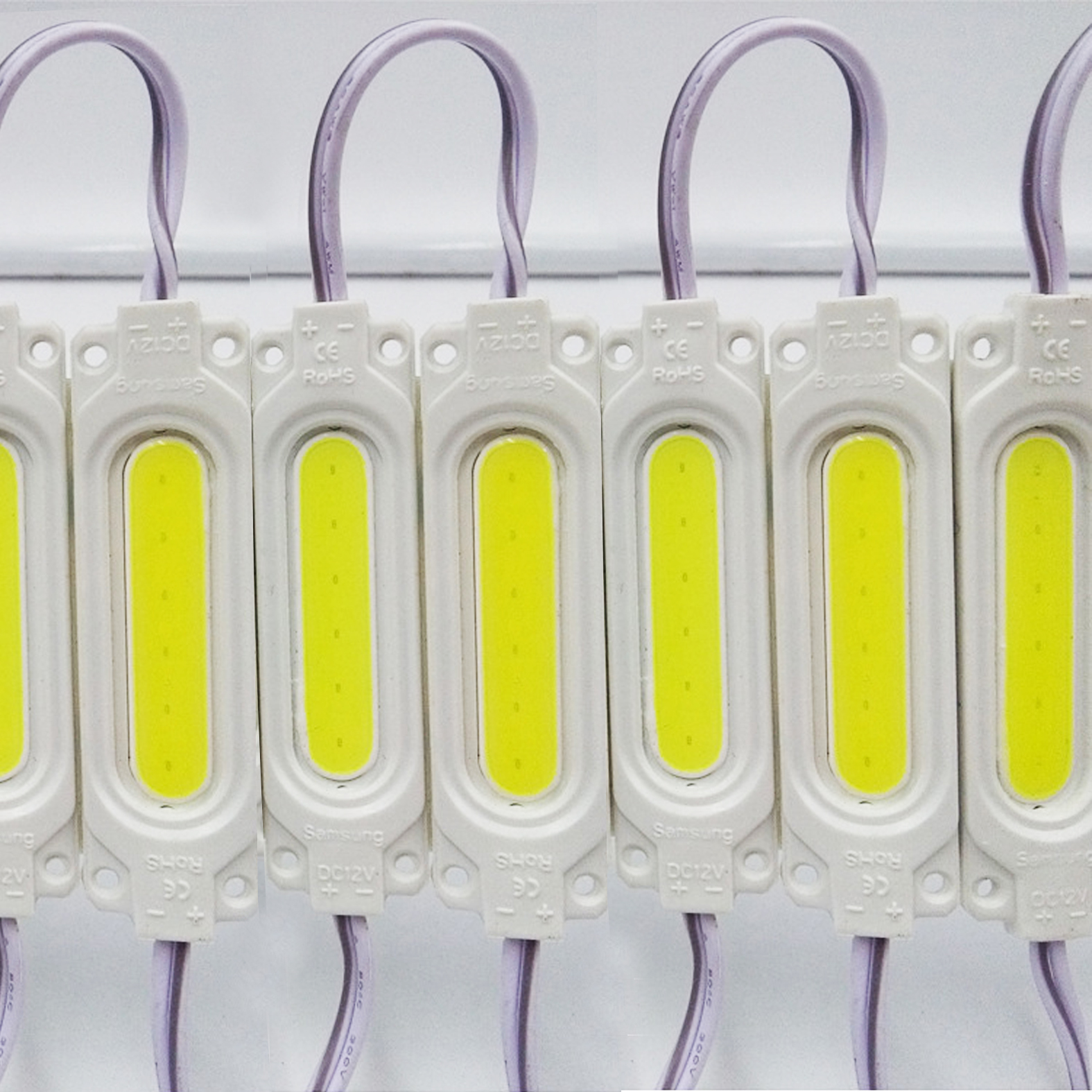 1000pcs DC <font><b>24V</b></font> COB <font><b>LED</b></font> <font><b>Modules</b></font> 2w Injection <font><b>module</b></font> Cold White Warm White Used For Advertising lamp bar light image