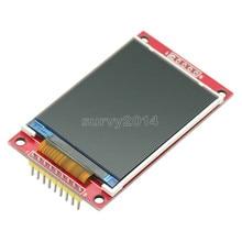 חכם אלקטרוניקה 2.2 אינץ 240*320 נקודות SPI TFT LCD יציאה טורית מודול תצוגת ILI9341 5 V/3.3 V 2.2 240x320 עבור Arduino Diy