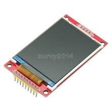 Inteligentne elektronika 2.2 Cal 240*320 punktów SPI TFT LCD Port szeregowy moduł wyświetlacza ILI9341 5 V/3.3 V 2.2 240x320 dla Arduino Diy