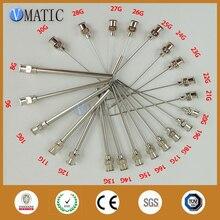 Высокая точность все металлические наконечники длина трубки 75 мм тупой нержавеющей стали 12 шт. дозирующие иглы наконечники игл для шприца