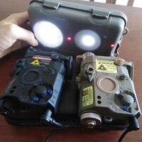 Element Airsoft PEQ 15 Tactical Flashlight Rifle Light PEQ IR Red Laser Gun Laser Lantern For Hunting Weapon Light PEQ15 EX276