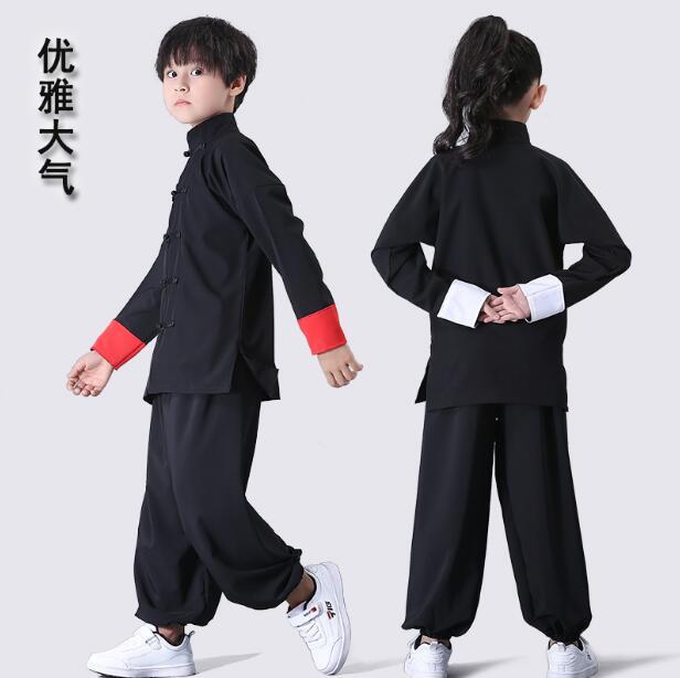 Новинка; Костюм Ушу; Детская одежда в традиционном китайском стиле; Одежда для выступлений в стиле Тай Чи, кунг фу; Униформа для девочек и мальчиков; Комплект для сцены|Испытательное оборудование| | АлиЭкспресс