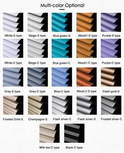 Image 5 - Angepasst 25mm Lamellen Aluminium Fenster Jalousien UV Proof Bohren oder Keine bohrer system Blackout Jalousien für Zu Hause Dekoration