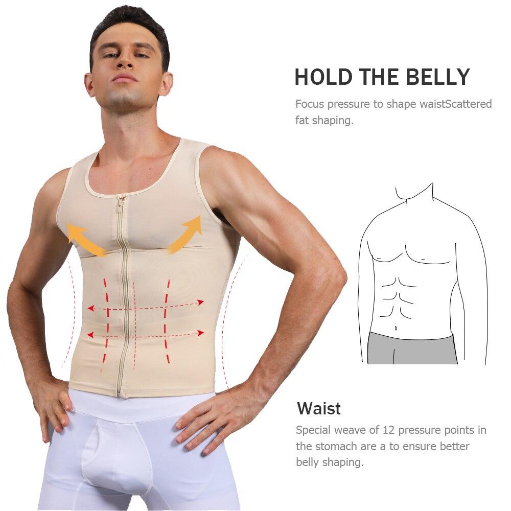 bărbați abs slimming shaper
