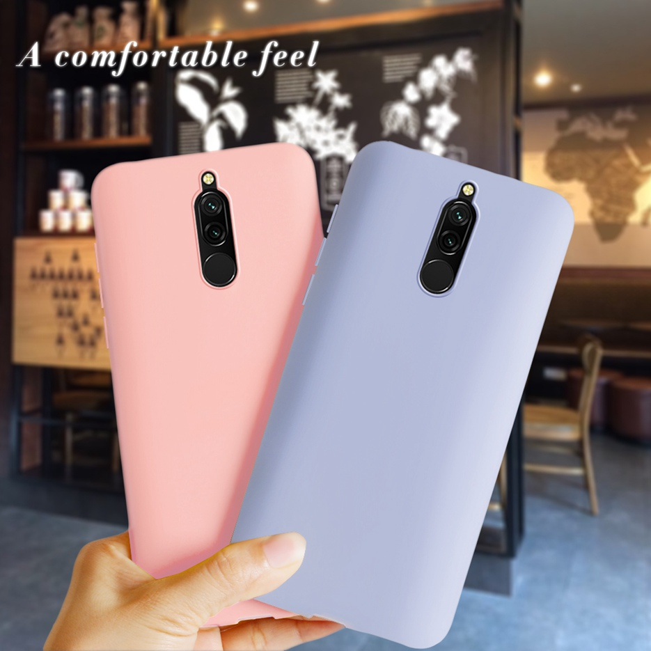 Silicone Case For Xiaomi Redmi <font><b>8</b></font> Redmi8 Cover Case <font><b>6.22</b></font> '' Soft TPU Fundas For Xiaomi Redmi <font><b>8</b></font> Full Coque Bumper On Redmi <font><b>8</b></font> Cases image