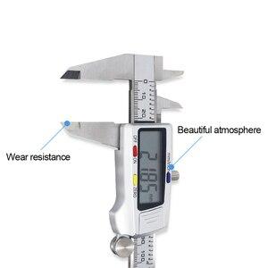 Image 4 - Metalen 0 150Mm/0.5Mm Carbon Staal Fiber Schuifmaat Gauge Micrometer Meetinstrumenten
