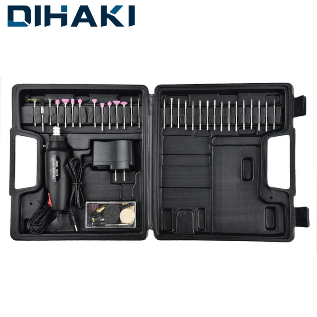 60 in 1 Electric Drill Set Grinder Engraving Pen Mini Sanding Machine Rotary Tool Grinding Machine Accessories for Dremel