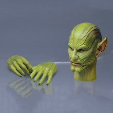 1:6 Male Head Sculpt 1/6 Scale TOSY ERA 026 Skrull Talos Head Sculpt Head Carved Model Toys Fit 12 Action Figure Body exquisite 1 6 scale accessories custom head sculpt carving female kumik 13 10 fit 12phicen cy hot toys woman body action figure
