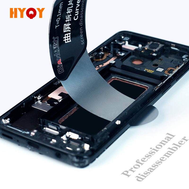 Qianli Tool Ultra Thin Pry Spudger Disassembling Card Dedicated for Curved Screen Samsung iPhone iPad Screen Opening Degumming image