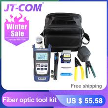 12pcs Fiber Optic FTTH Tool Kit with FC-6S Fiber C