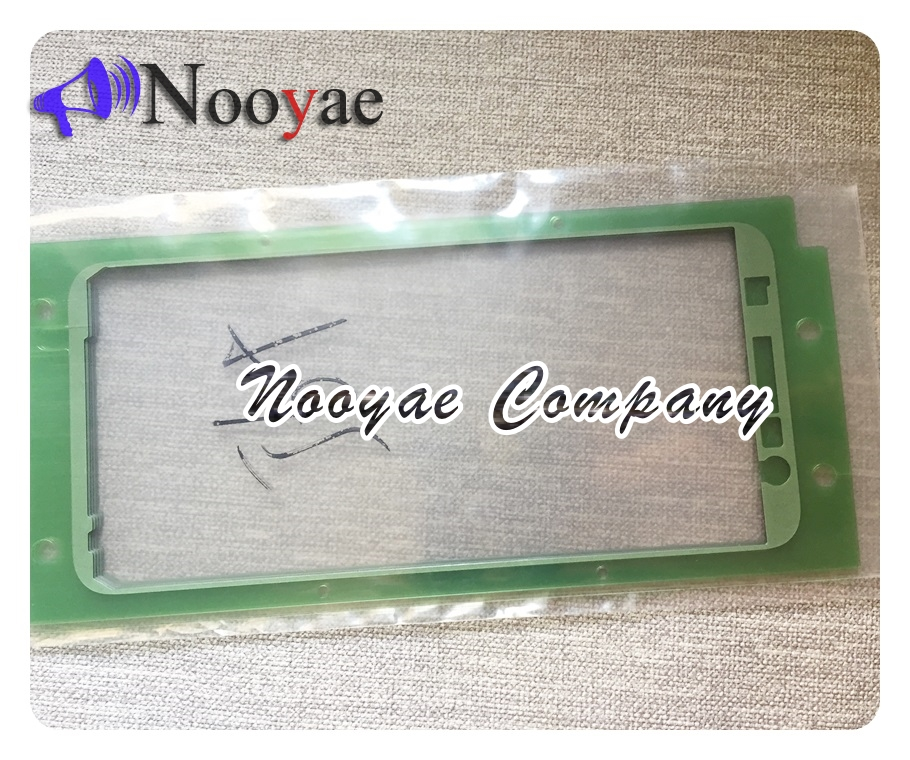 Frame Sticker Tape For Samsung Galaxy A6 2018 A300 A310 A320 A500 A510 A520 A530 A730 A750 LCD Front Bezel Adhesive Glue 10pcs