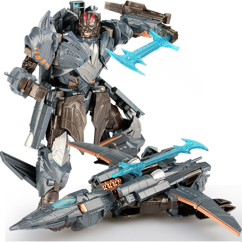 19cm Transformer Toys Megatron Ation Figure Collection Model Dolls Robot Car Kids Toy Gift
