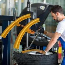 5 uds mano herramienta de reparación de neumáticos herramientas de palanca de llanta de rueda cambiar ayudante para Universal de reparación de neumáticos Protector de llantas borde Protector de la cubierta
