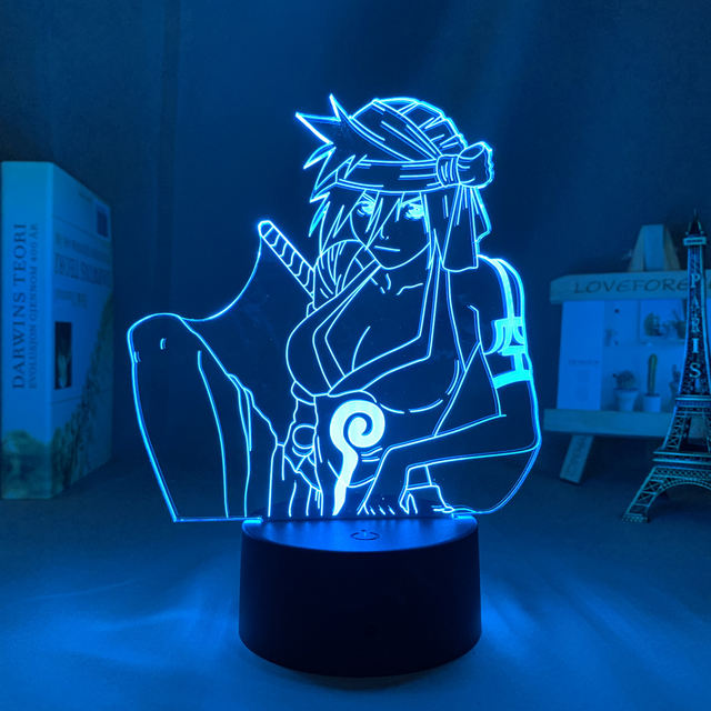 16 COLOR WITH REMOTE KUKAKU SHIBA 3D LED LAMP