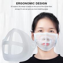 Mask-Holder Valve Support Inner-Cushion-Bracket Mouth-Mask Help Food-Grade Silicone Breathing