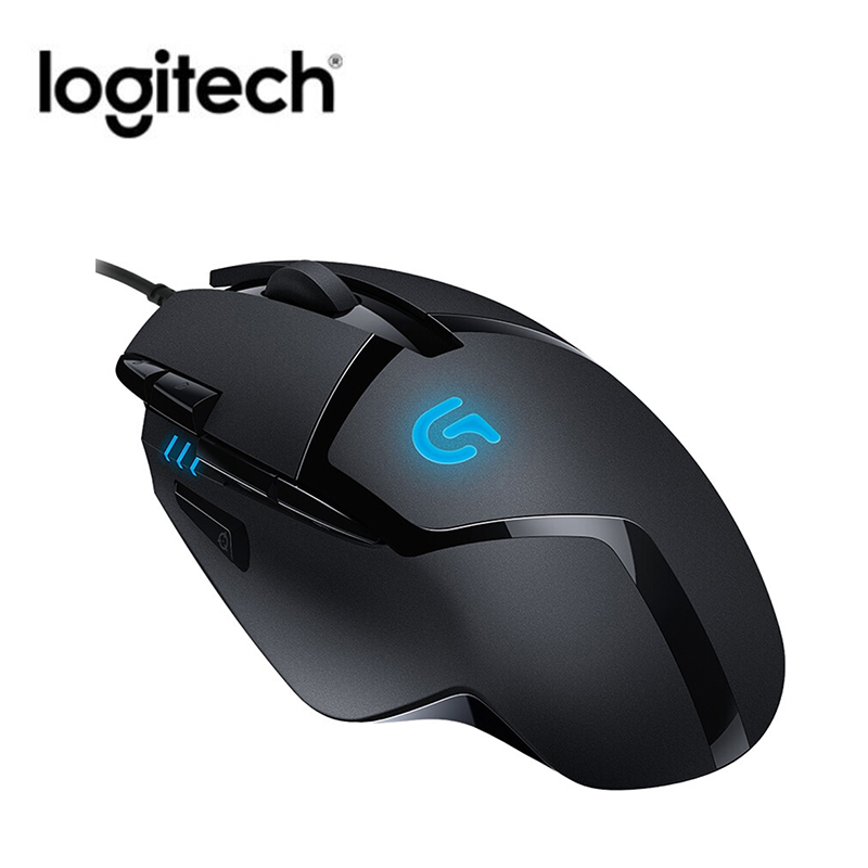 Logitech G402 Hyperion Fury FPS Gaming Mouse 4000 DPI Wired Optical Mouse Ergonomics Design USB Mouse For Windows XP/Vista/7/8