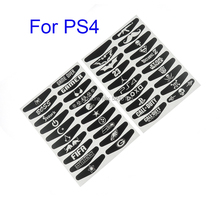 40PCS=1set For Playstation 4 LED Light Bar Sticker Decal PS4 Controller Fashion Stickers Gamepad Cover PS4 Controller Skin