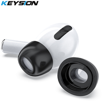 KEYSION Memory sponge earplugs Case for AirPods Pro Efficient noise reduction and sound insulation foam earbuds for AirPods Pro hardware support for efficient transactional memory systems