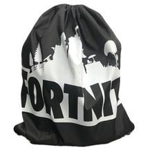 Fortnite – sac à dos pliable en Polyester, pochette Simple pour magasin, Sport, Fitness, Camping, plage, natation