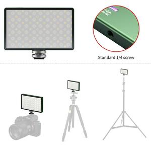 Image 4 - Soonpho RGB LED מצלמה אור מלא צבע פלט וידאו אור ערכת Dimmable 2500K 8500K Bi צבע פנל אור CRI 95 +