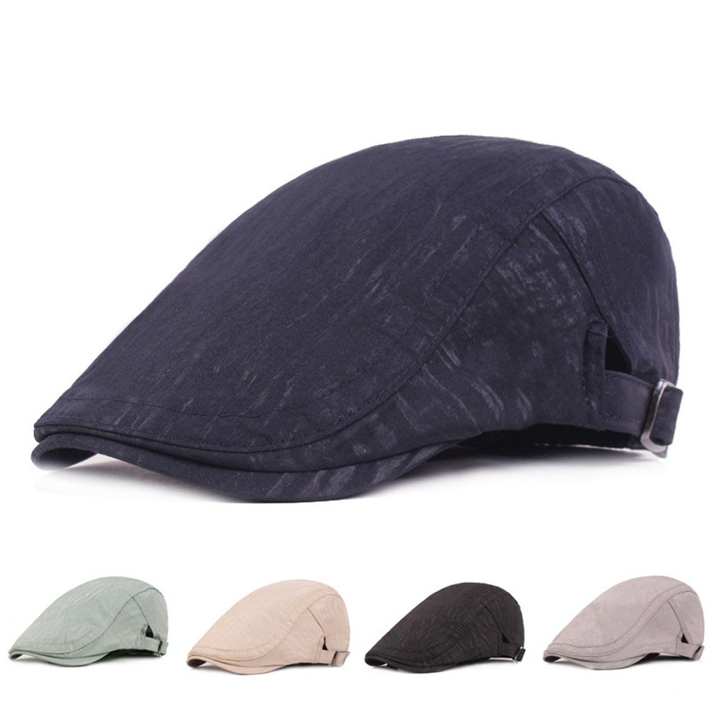 Embroidered Cap Hat Cotton-Caps Female Women Autumn/winter Fashion Solid with Tapered-Fabric
